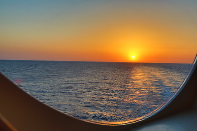 Cruising the Mediterranean- View from a Porthole