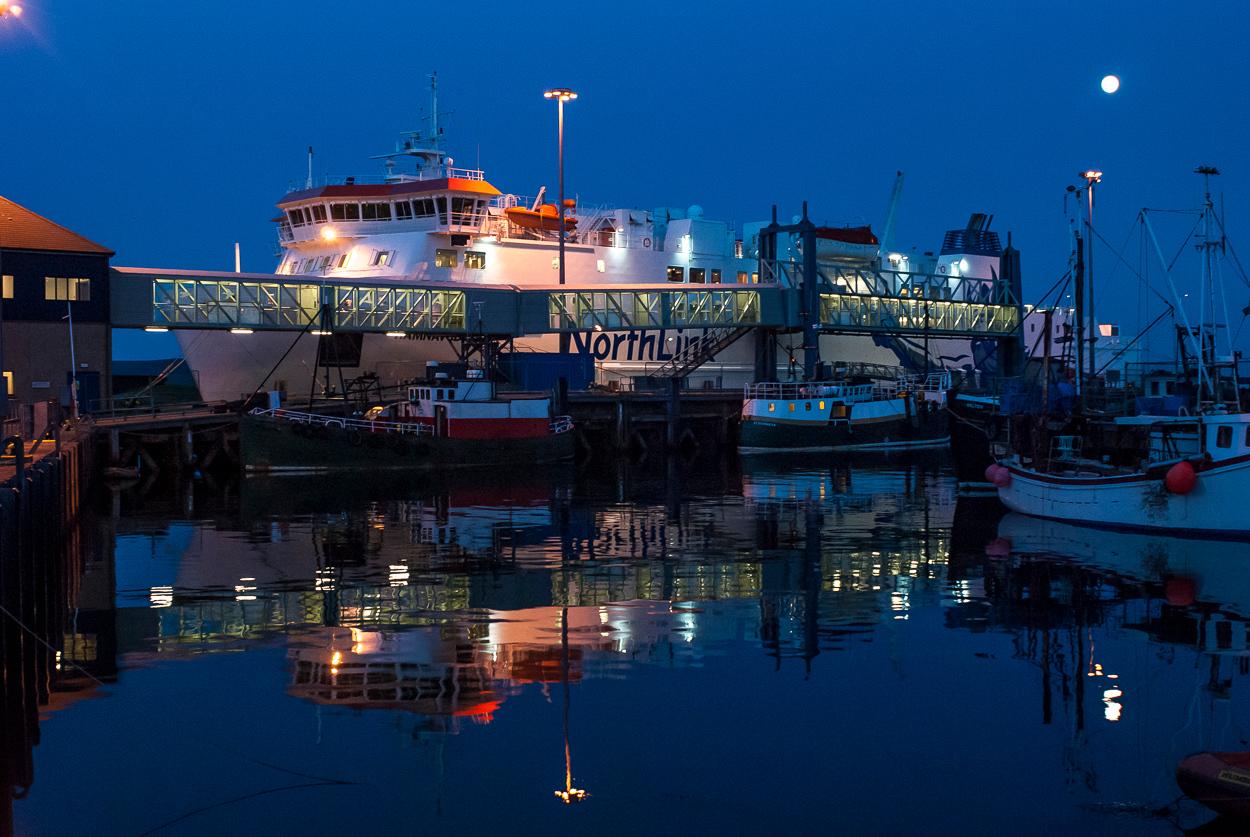 Harbour Stromness, Orkney, Scotland.