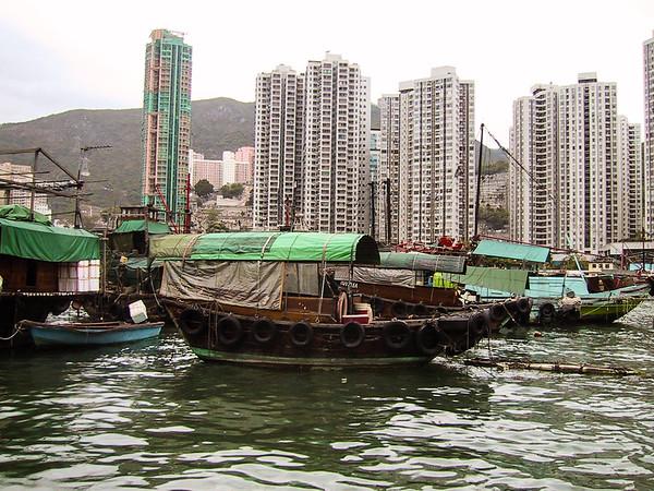 Hong Kong, 2001