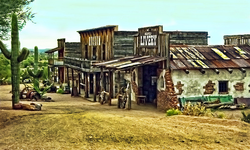 Arizona preserved town.