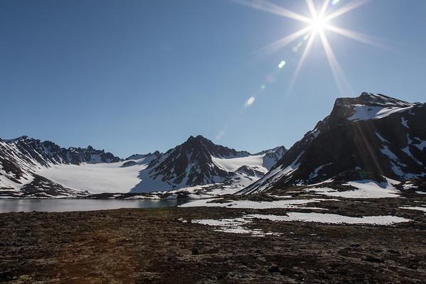 Svalbard sunshine