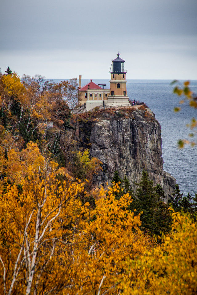 Split Rock in the Fall