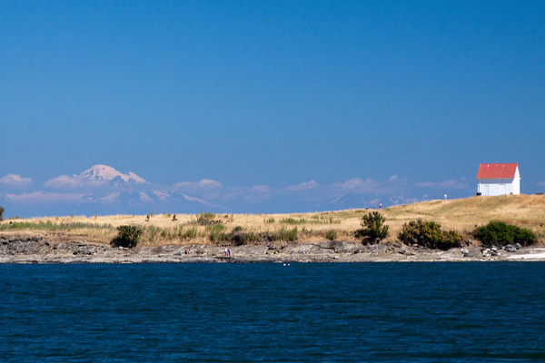 Mt Baker from the Gulf Islands