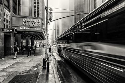Foggy Manhattan Morning