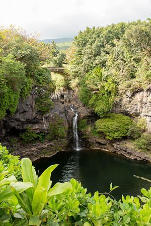 Oheo Gulch waterfall
