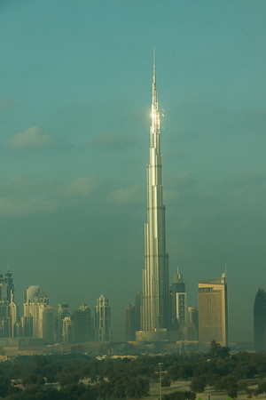 Burj Khalifa at sunrise