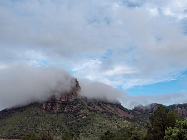 Clouds Over Emory Peak