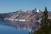 Steep cliffs at Crater Lake