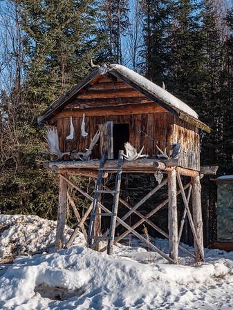 Alaskan cache