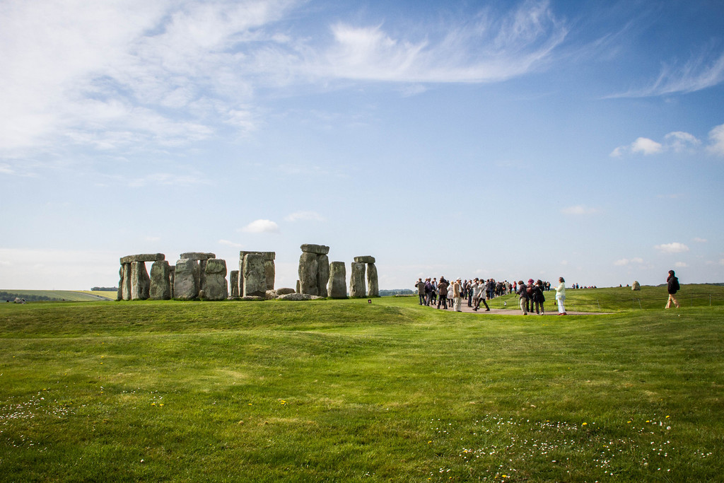 Stonehenge Tourists