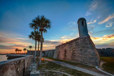 Castillo De San Marcos, Saint Augustine, Florida