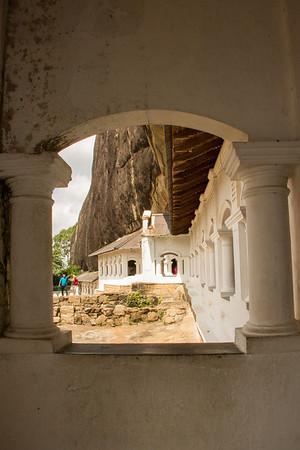 Cave temples at Dambulla
