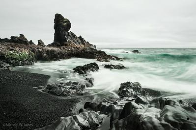 Djúpalónssandur, Snæfellsjökull, Iceland