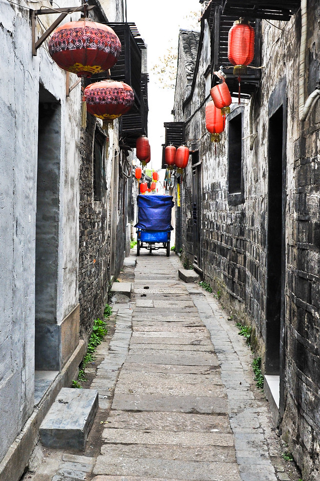 Narrow Street, Xitang, China