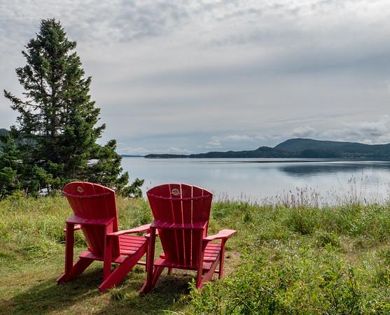 Terra Nova red chairs