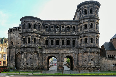 Porto Nigra (Black Gates) Trier Germany