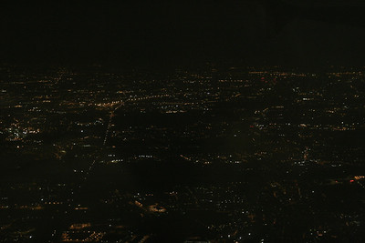 Night lights from above
