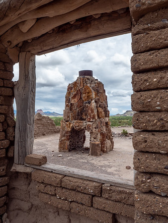 Dorgan fireplace