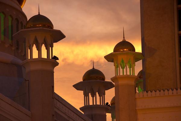 Brunei minarets