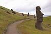 Moai, Rano Raraku quarry