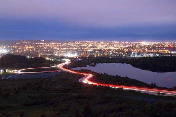 View overlooking Signal Hill St. John's, Newfoundland