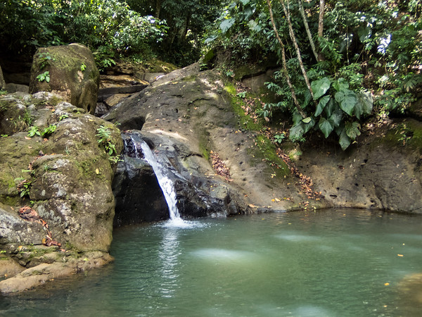 St Lucia waterfall