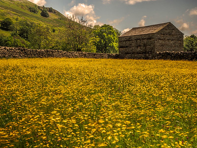 Swaledale barn Yorkshire