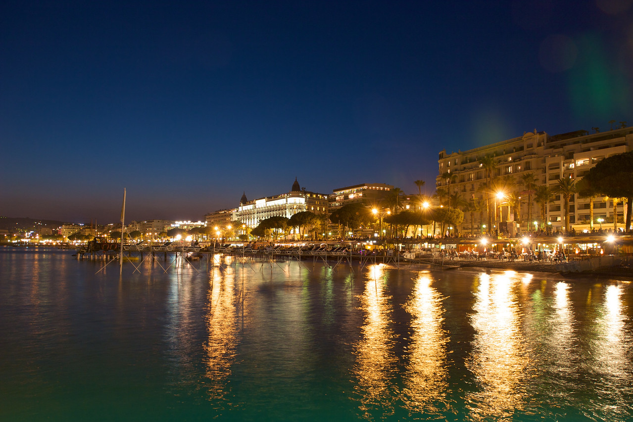 Cannes bay