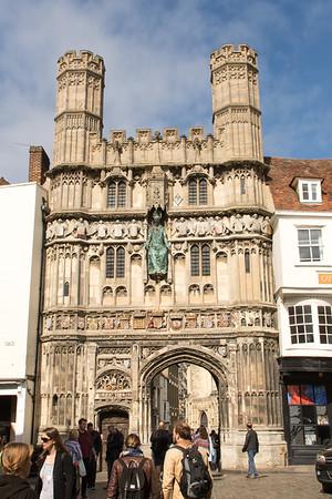 Canterbury Cathedral gateway
