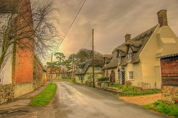 Rush Hour in my Ancestral Hometown, Potterhanworth, Lincolnshire, UK