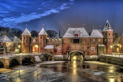 Koppelpoort medieval gate, Amersfoort, The Netherlands.