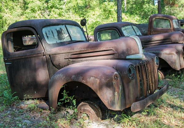 Rusting relics