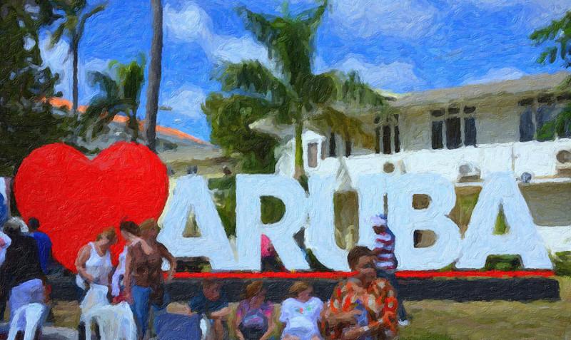 Aruba Painting. 2013