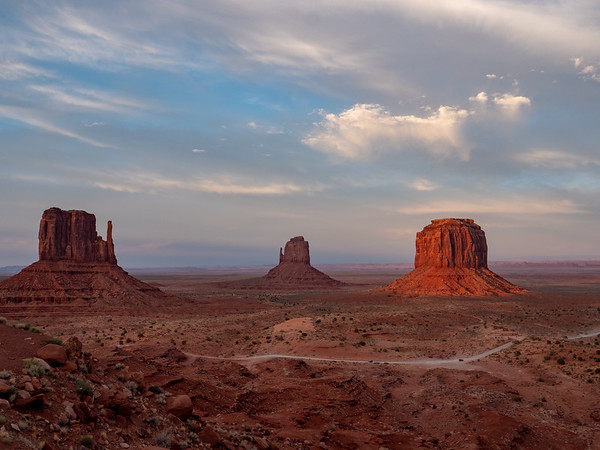 Monument Valley late afternoon
