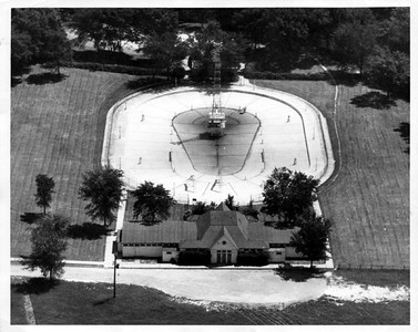 Aerial Photo of Crystal Lake Pool