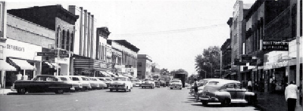 Downtown Look West 1951