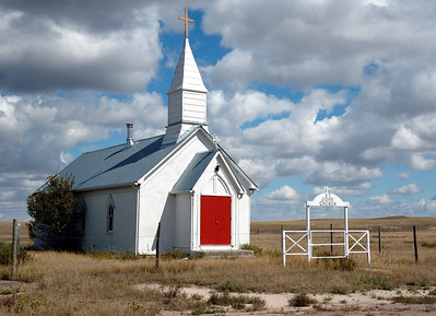 WOUNDED KNEE CHURCH