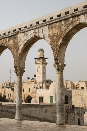 Minaret on Temple Mount