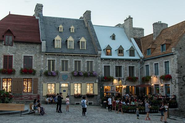 Quebec City Place Royale