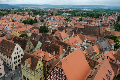 Walled City of Rothenburg, Germany