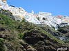 The Hillside of Homes in Santorini, Greece