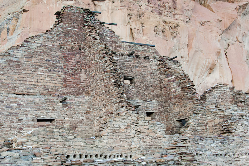 Chaco Canyon Walls