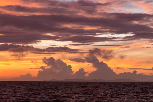 Waigeo Island sunset