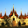 The Dhara Dhevi temple in Chiang Mai, Thailand