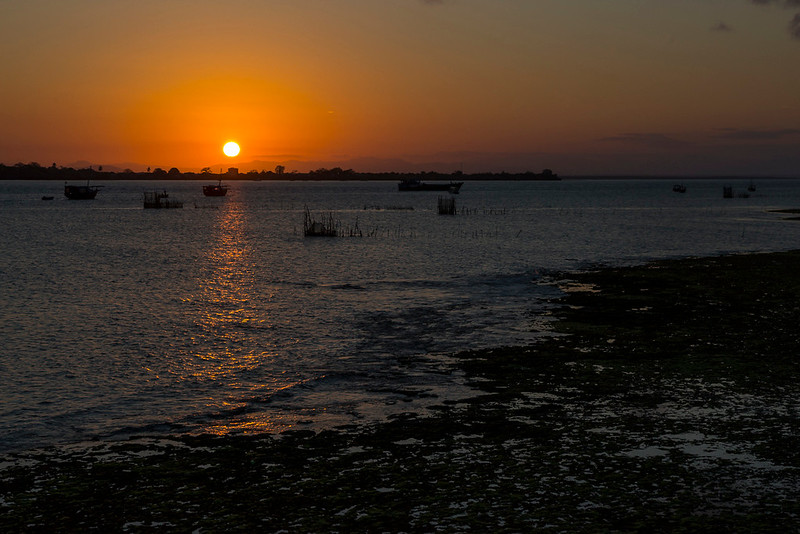 Sunset over Wasini Island, Kenya.