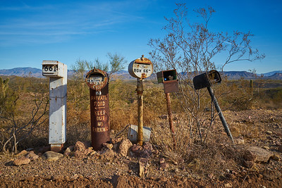 Lake Pleasant Post Boxes