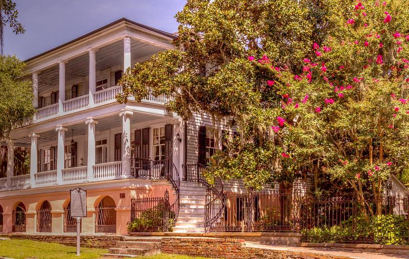 An 1812 English Sea Captain's House, Beaufort, South Carolina.