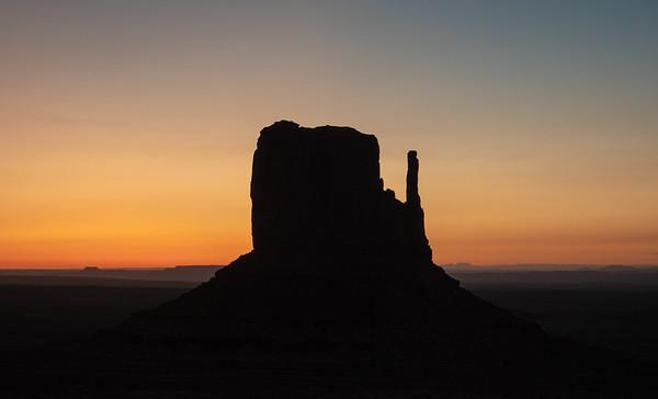 West Mitten at dawn