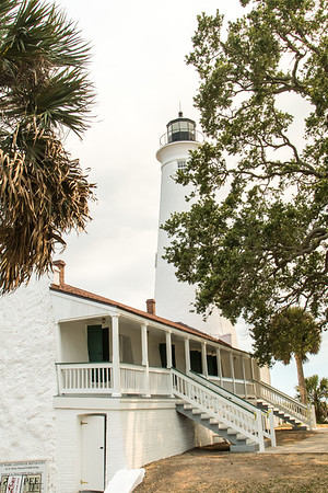 St Marks National Wildlife Refuge lighthouse