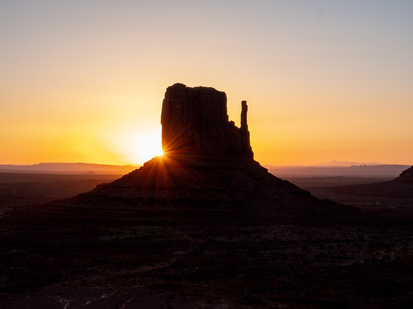 Sunrise at West Mitten